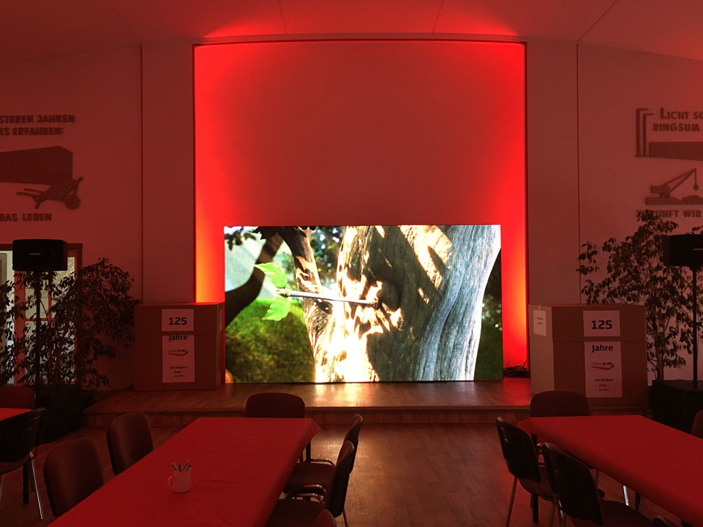Videotechnik LED-Wand BLT-SONNEK GmbH